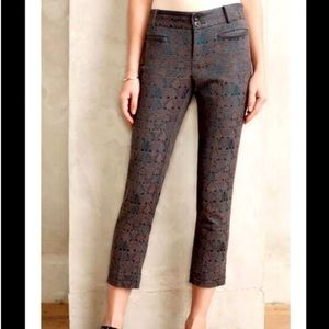 Anthro Cartonnier Charlie Ankle Trousers